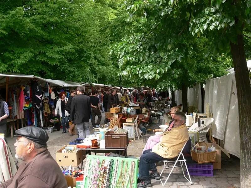 Berlin-Arkonaplatz-Flohmarkt