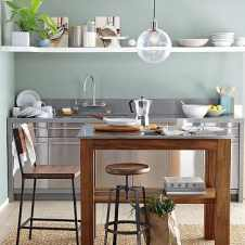 retro chairs look just as great in a kitche, as in the living room
