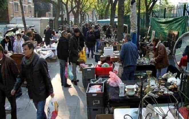 Image result for Porte de Vanves Flea market