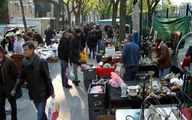 Vanves flea market