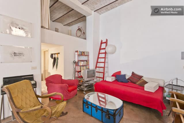 interior design a vintage loft in roma italy flea market insiders