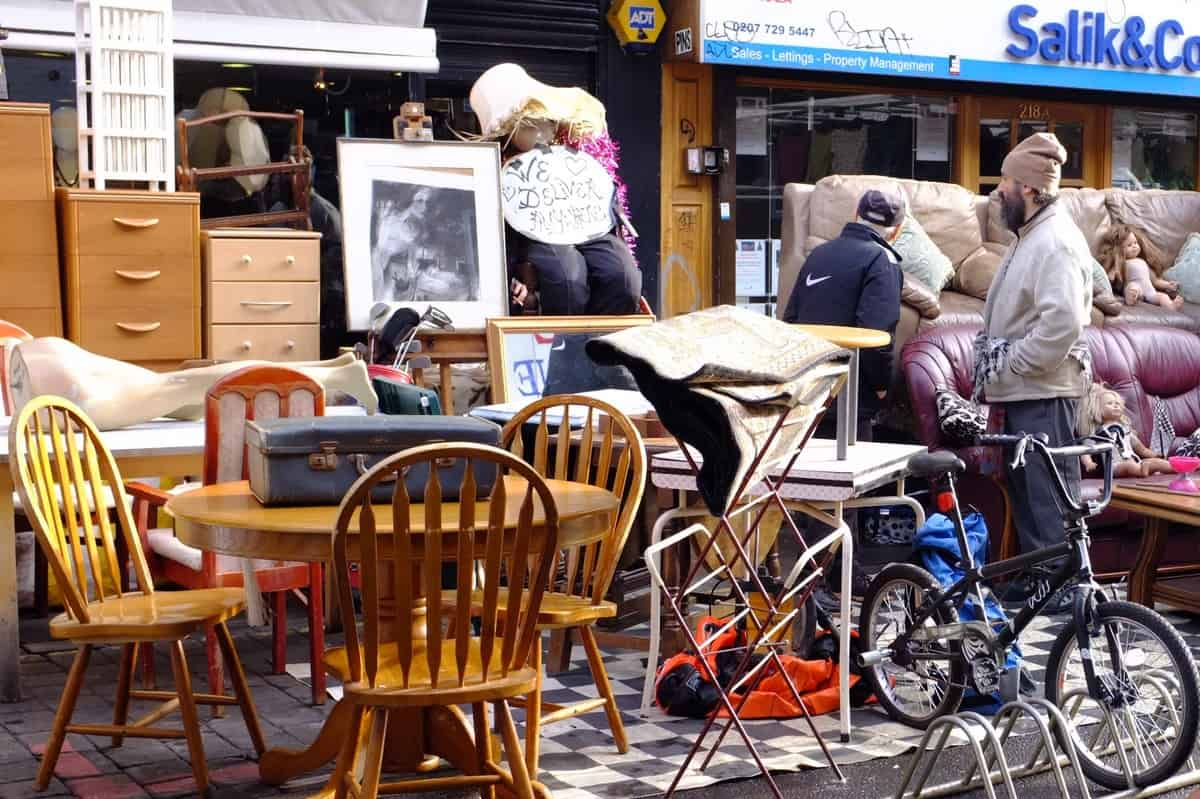 Brick Lane Flea Market   London, UK 065