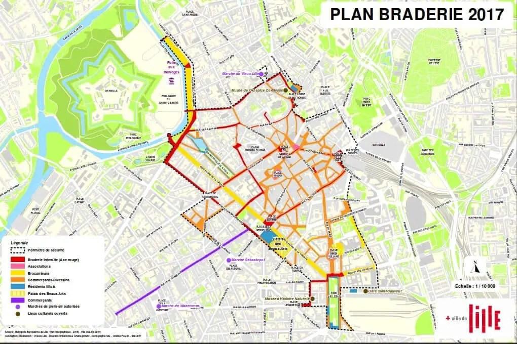 Save the date Grande Braderie de Lille 2018 Flea Market