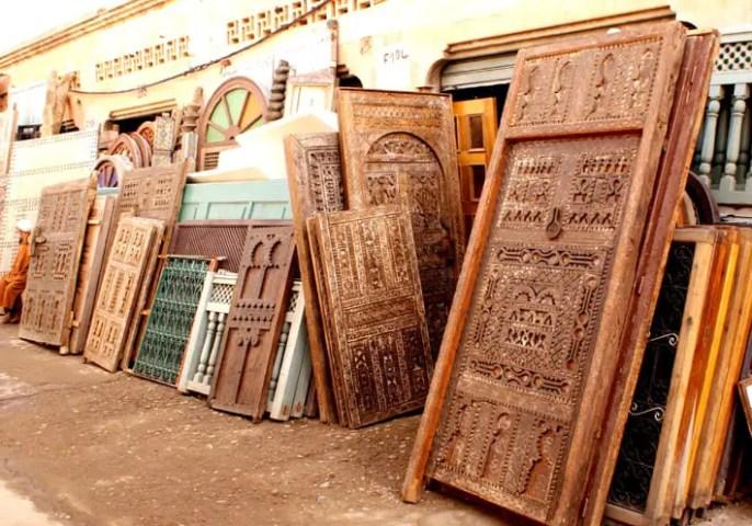 Flea Market In Marrakech Bab El Khemis Flea Market