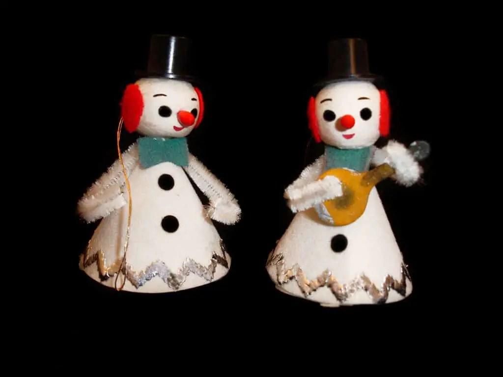 Patrick Q vintage snowmen