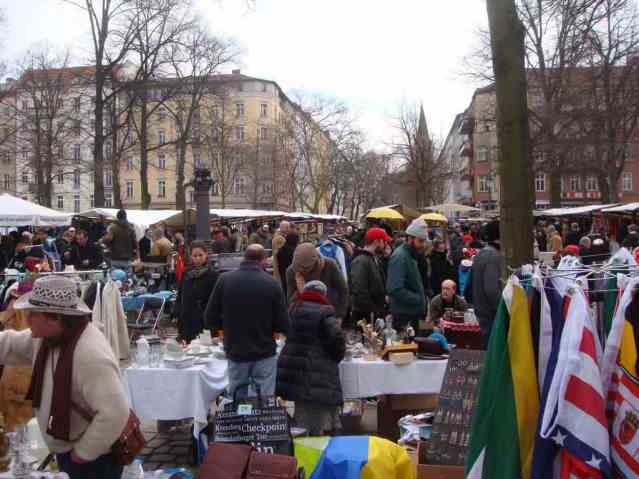 Karen Mardahl Arkona Flohmarkt on Arkonaplatz