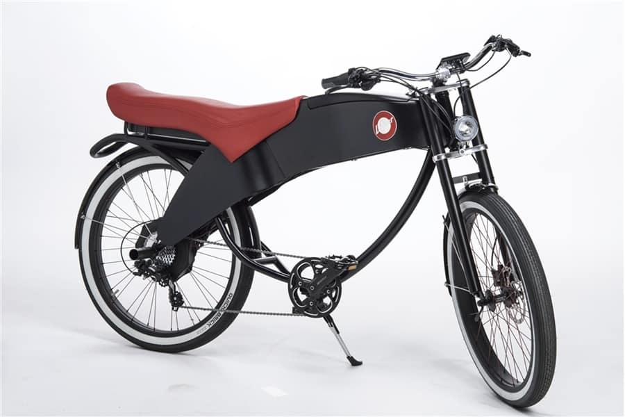 Lohner Stroler  A Retro Modern Electric Bike Made In
