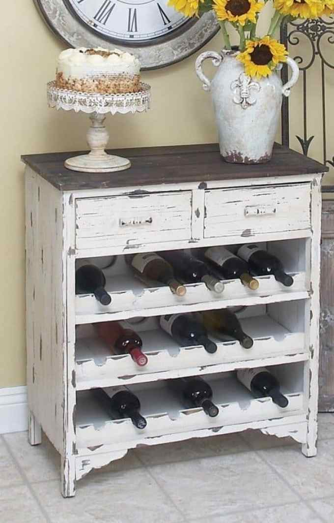 Creative Decoration Ideas With Vintage Furniture-001