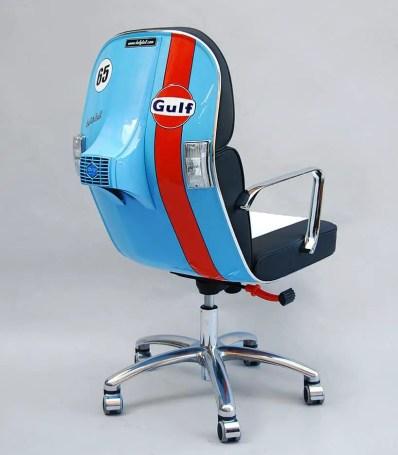 Vespa Scooter Chair by Bel&Bel