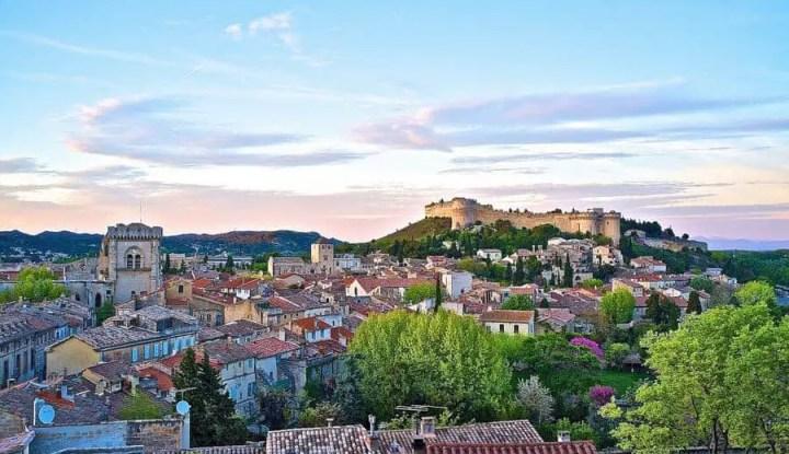 View of Villeneuve-les-Avignon
