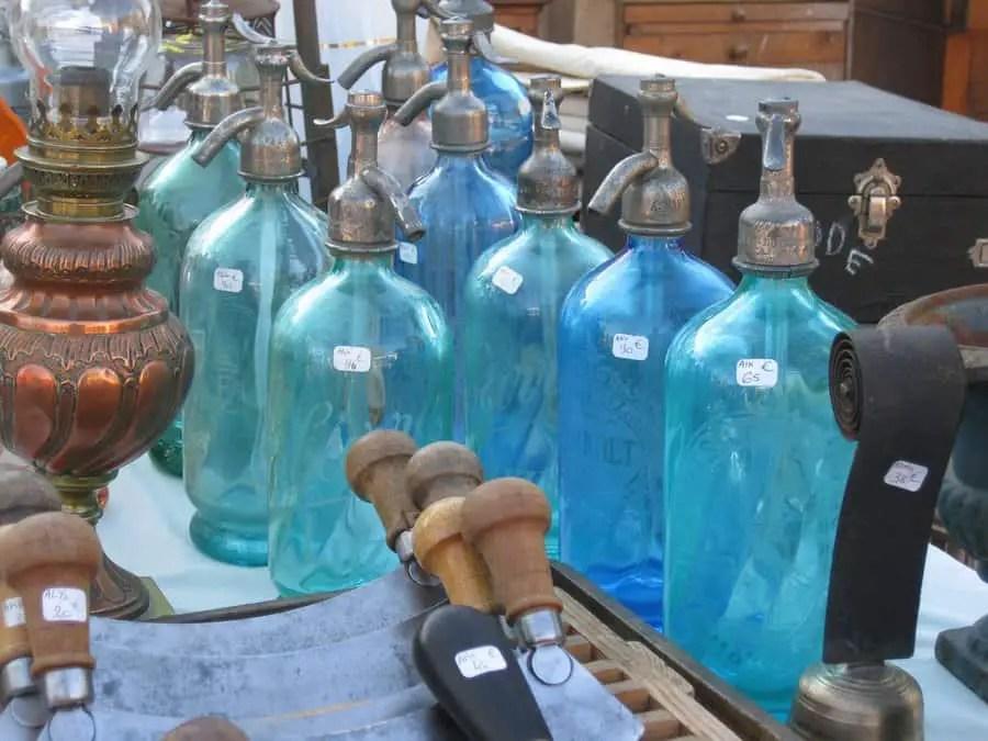 Vintage Lulu Old bottle sparkling water
