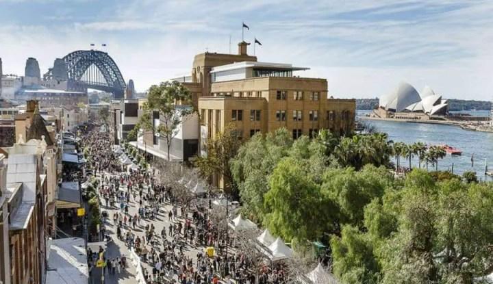 The Rocks Markets Sydney