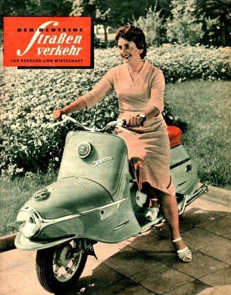 Cezeta 506 Electric Scooter 10