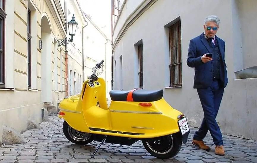 Cezeta 506 Electric Scooter 9