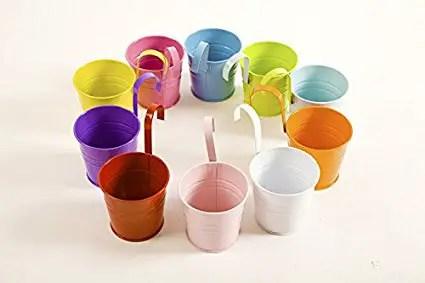 metal-hanging-flower-pots