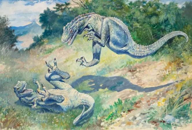 paleoart retro dinosaurs taschen 3