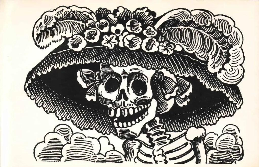 Dia de Muertos - Calavera Catrina - Posada