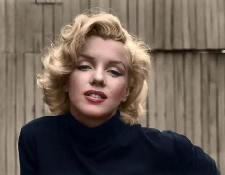 Marilyn-Monroe-colorized