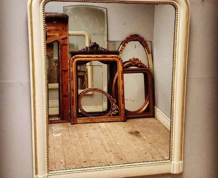 Framing Options Antique Mirrors © French Finds