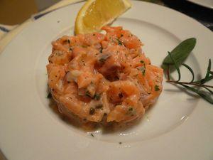 Fleanette's Kitchen - Tartare de Saumon