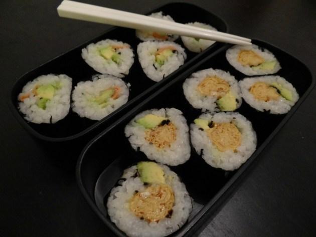 Fleanette's Kitchen - Bento : Makis végétariens
