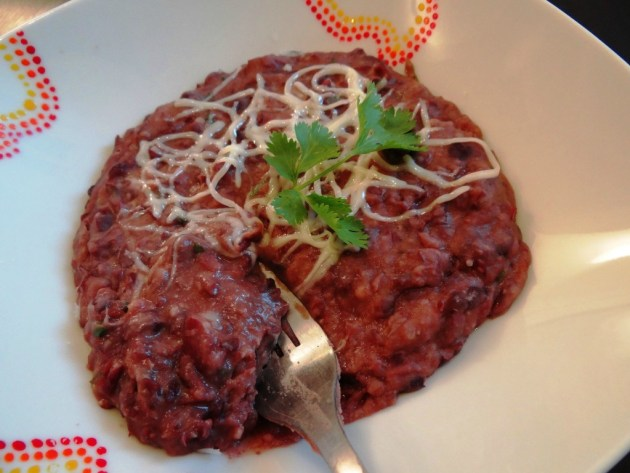 Refried beans (purée de haricots rouges) - Fleanette's Kitchen