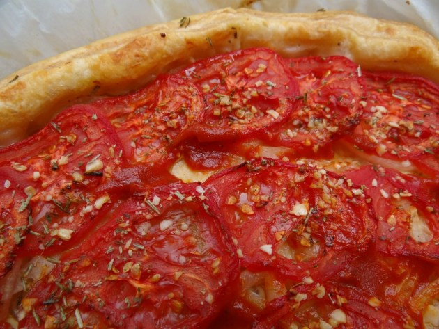 Tarte tomate-oignon - Fleanette's Kitchen