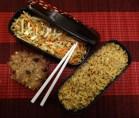 Fleanette's Kitchen - Salade de chou à la japonaise, mélange de céréales et biscuits petit dej'