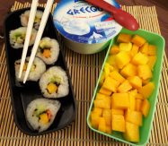 Fleanette's Kitchen - Makis avocat - mangue, yaourt, mangue