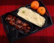 Fleanette's Kitchen - Purée au wasabi, Tofu laqué
