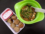 Fleanette's Kitchen - Wok japonais et boulettes sarrasin - emmental