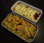 Fleanette's Kitchen - Mélange graines et légumes, et porridge aux fruits