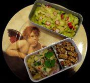 Fleanette's Kitchen - Tagliatelles de courgette et ceviche de manioc
