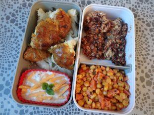 Fleanette's Kitchen - Choux-fleurs Tandoori, salade de maïs et cookies flocons d'avoine