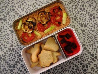 Fleanette's Kitchen - Taboulé tomate et sablés