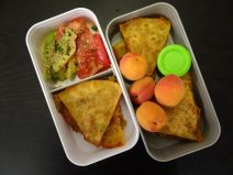 Fleanette's Kitchen - Quesadilla et abricots