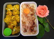 Fleanette's Kitchen - Chou-fleur tandoori et yaourt abricots-noisette