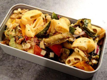 Fleanette's Kitchen - Salade de pâtes au légumes d'été grillés!