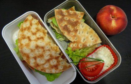 Fleanette's Kitchen - Sandwich au pain polaire