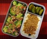 Fleanette's Kitchen - Salade de brocolis et yaourt au granola