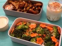 Bento brocolis et fleurs de carotte - Fleanette's Kitchen