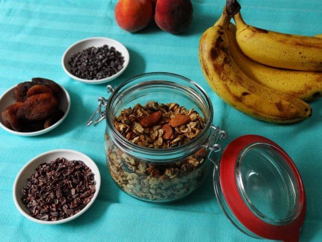 Granola maison - Fleanette's kitchen