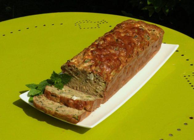 Cake courgette, feta et menthe - Fleanette's Kitchen