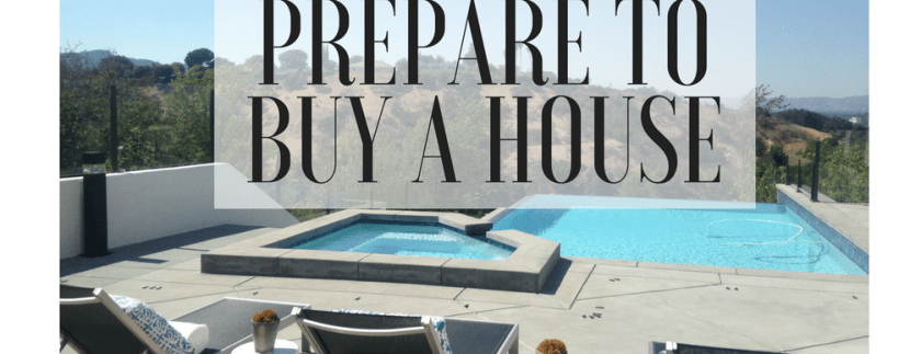 Prepare before you buy a house