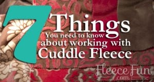 7 things cuddle fleece feature