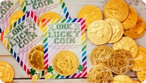 free st patricks day printable lucky coin