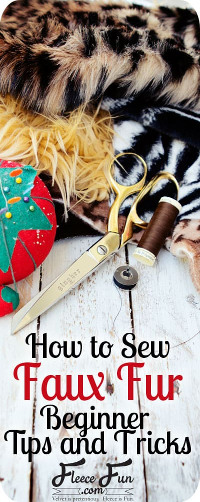 Wow sewing with faux fur isn't as hard as you think it is. With these tips it's doable. Pinning to make sure I have this on file.