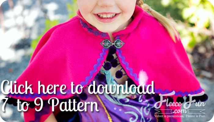 princess anna cape tutorial snow princess cape download 7 to 9