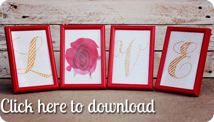 download valentines sign