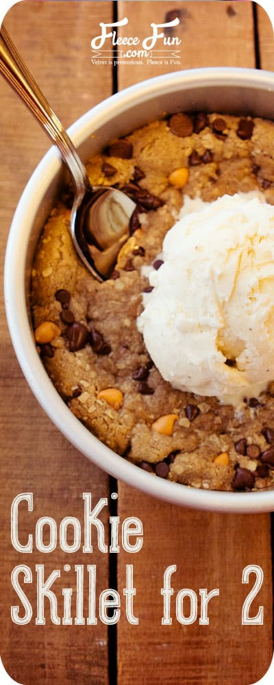This looks so Yummy! I love the idea of a warm cookie with cold ice cream. I'm totally making this on Saturday!.
